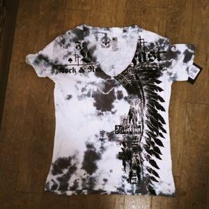 New Women's Affliction shirt